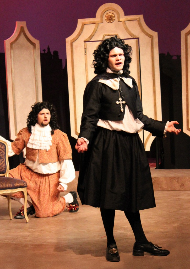 John Hewson and Jacob Betts in TARTUFFE
